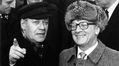 Helmut Schmidt und Erich Honecker