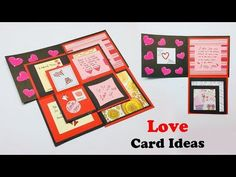 Maze Love Greeting Card, Greeting Cards Latest Design Handmade, I Love You Card Ideas Love Greeting Card : In This Video You Can Learn Beautiful # . Will Teach You How To Make I Love You Greeting Card For Loved Ones Love Cards, Diy Cards, Craft Stick Crafts, Paper Crafts, Dating Anniversary Gifts, Birthday Presents For Friends, Origami Cards, Frog Crafts, Diy Crafts For Girls