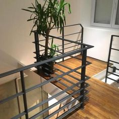 New Ideas For Stairs Metal Industrial Mezzanine Iron Staircase, Wrought Iron Stairs, Staircase Design, Interior Stair Railing, Balcony Railing Design, Steel Stairs, Facade House, Minimalist Home, Railings