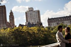 Central Park Engagement Photography : Bow Bridge near Street, New York Fall Engagement, Engagement Session, Summer Heat, Willis Tower, Central Park, Engagement Photography, Bridge, Bow, Street