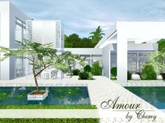 Modern Amour home by chemy - Sims 3 Downloads CC Caboodle