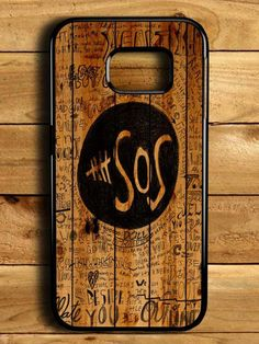 5sos Fans On Wood Samsung Galaxy S6 Edge Case