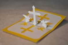 Easy Pop-Up Card Patterns | Cihristian_Cross_Pop_Up_Card_religious