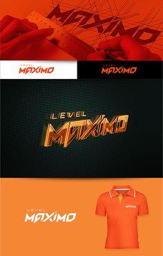 Logotipo criado para meu amigo Ney Moreth. Level Máximo, Video games · Diversão · Entretenimento. Araguari – MG