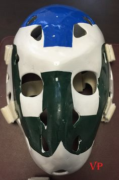 John Garrett Hartford Whalers - Don Scott mask.