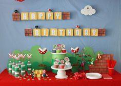 Super Mario Bros Party  Birthday  Super Mario