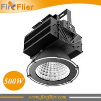 Led High Bay Light 500W or 500W Led Flood Light IP65 with CREE bridgelux LED Heat Pipe Cooling Free Shipping