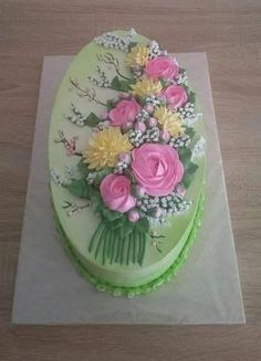 Pretty Cakes, Beautiful Cakes, Amazing Cakes, Crazy Cakes, Fancy Cakes, Cake Icing, Buttercream Cake, Royal Icing Cakes, Cake Decorating Techniques