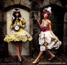 Alice in Wonderland editorial by HannahRuthWatte - Vimity.com