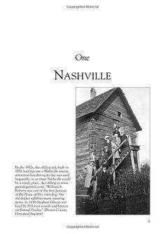 Old Log Jail, Nashville, Indiana