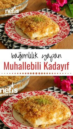 Video Description Muhallebili Kadayıf Dessert Video How to make a recipe? Here is the video description of this recipe in the book of people and the photos of the experimenters. Healthy Eating Tips, Healthy Nutrition, Healthy Foods To Eat, Healthy Recipes, Cake Recipes, Dessert Recipes, Drinks Alcohol Recipes, Alcoholic Beverages, Drink Recipes