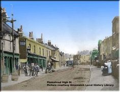 Plumstead High Street, 1882 -not that changed My primary School is on this road.