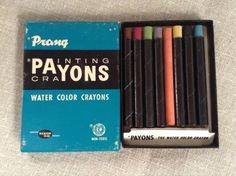 VINTAGE PRANG PAINTING WATER COLOR CRAYONS ART SUPPLIES DIXON - http://crafts.goshoppins.com/art-supplies/vintage-prang-painting-water-color-crayons-art-supplies-dixon/