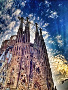 Sagrada Família in Barcelona, Cataluña