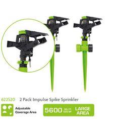 622520 2 Pack Impulse Spike Sprinkler