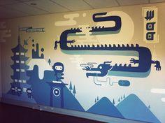 headquarters wall - Cerca con Google