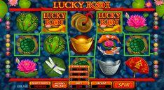 """Spiele """"Lucky Koi"""" Microgaming Spielautomat für Spielgeld und lerne mehr über Chinesen und ihre Kultur! Sammle Slot-Eigenschaften und spiele für Spass kostenlos!"""