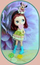 Lollipop para muñeca Blythe * 4 piezas * de plástico * su elección * hacer Select *