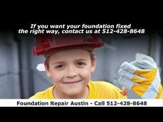 Give us a call at 512-428-8648. If you are in the Austin or surrounding areas and you are suffering from foundation Repair or things like cracked walls, sagging floors, a cracked foundation, or other similar problems, you could have a serious problem.    Contact us for a free inspection so we can review the issue you are faced with. There are multiple solutions that can be used to fix foundation problems and we have all those tools at our disposal.