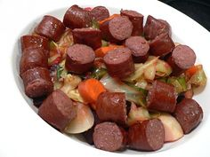 ... Recipes - Main Dishes on Pinterest | Kielbasa, Quiche and Sausages