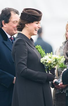 Kate charms lucky guardsmen at St Patrick's Day parade