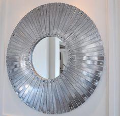 Metal Ruler Mirror