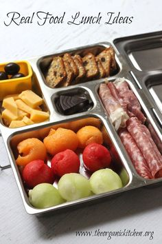 20 Back To School Lunch Ideas | The Organic Kitchen Blog and Tutorials