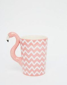 Sass & Belle - Mug flamant rose