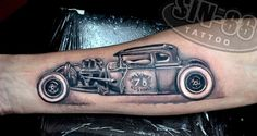 hotrod tattoo - Google zoeken