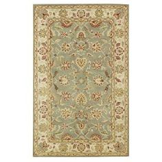 Home Decorators Collection, Old London Green and Ivory 9 ft. 6 in. x 13 ft. 6 in. Area Rug, 4561645610 at The Home Depot - Mobile