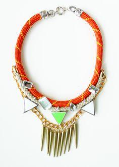 The Apollo-USD78   #jewelry #neon #accessories #necklace #colors #crafts #fashion #tribal