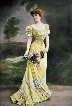 Capítulo 35. La indumentaria en los años centrales del Modernismo (Art Nouveau, 1890-1905)