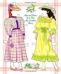 Anne of Green Gables Paper Doll Book: Eileen Rudisill Miller, Sandy Wagner, Paper Dolls: 9781935223900: Amazon.com: Books