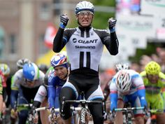 GIRO D'ITALIA STAGE TWO GALLERY Marcel Kittel prevailed in the sprint finish after 219 kilometres