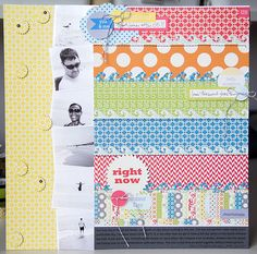 Layout by Cindy Liebel using Lily Bee Design Pinwheel collection  #scrapbook #lilybee #lilybeedesign