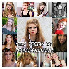 It's Christine's 10 year YouTube-aversary!! Happy 10 years, Bananas!!