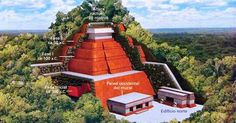 Le Mexique n'a décidément pas fini de nous livrer tous ses secrets. Ce haut-lieu de la civilisation Maya vient en effet de révéler l'existence... d'une pyramide cachée, vieil...