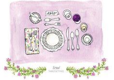 Montajes: cómo poner una mesa formal y una casual - Lo básico - NUPCIAS Magazine