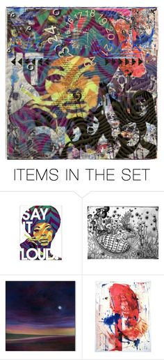 """""""Erase / Rewind"""" by lablanchenoire ❤ liked on Polyvore featuring art"""