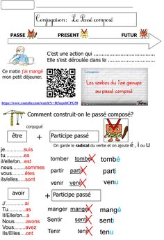 French Language Lessons, Cycle 3, French Education, French Resources, French Immersion, Teaching French, 30 Day Challenge, Vocabulary, Worksheets