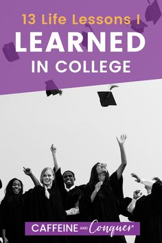 13 Life Lessons I Learned in College that they don't teach you in a classroom! I spent 10 years pursuing higher education, first completing a B.A. in History and later an advanced diploma in Museum Studies. There are certain college hacks I have picked up during that decade of my life that I share in this post. Click for more information or pin it for later! #college #lifelessons #personaldevelopment #adulthood College Hacks, College Life, Positive Mindset, Positive Thoughts, Museum Studies, Introvert Problems, Important Life Lessons, A Classroom, Life Advice