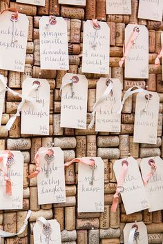 Wedding Name Place Table or Escort Cards Shabby Chic by RachelCarl