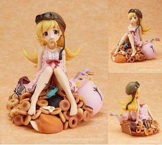Anime Bakemonogatari Shinobu Oshino 1:8 Scale PVC Figure New in box