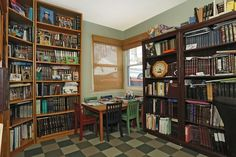 Interior of Home - #library #office