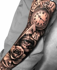 Bamboo Tattoo Studio - Canadian home of tattoo realism Forarm Tattoos, Forearm Sleeve Tattoos, Best Sleeve Tattoos, Dope Tattoos, Sleeve Tattoos For Women, Tattoo Sleeve Designs, Tattoo Designs Men, Leg Tattoos, Tattoos Skull