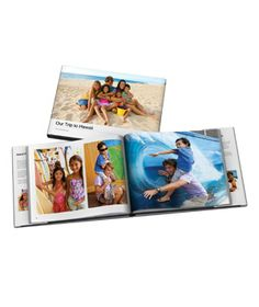 Personalized Photo Books:  You've captured the best moments, now it's time to share them in an unforgettable way. Choose a theme from your iPhoto book browser and let it do all the work (cropping, framing) for you. Soft covered books also available.  (36 Unique Gifts for Dad)