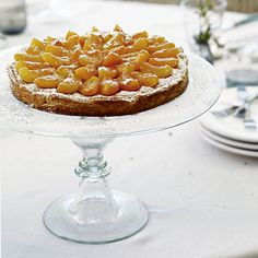 You can make this frangipane tart a day ahead if you like, adding the apricot topping up to an hour before serving | Recipes Alice Hart | Styling Ali Brown | Photograph Emma Lee | Homes & Gardens | http://www.hglivingbeautifully.com/2016/07/10/weekend-recipes-summer-apricot-tart/