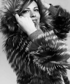 Made in Spain Fur Coat, Spain, Fox, Silver, How To Make, Cowls, Jackets, Fur, Fur Coats