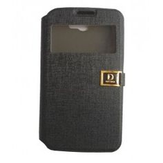 Stylish Flip Covers For Samsung Galaxy Note 2 - Black
