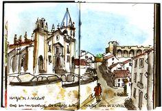 """Abrantes' Sketchbook"" | Urban Sketchers"
